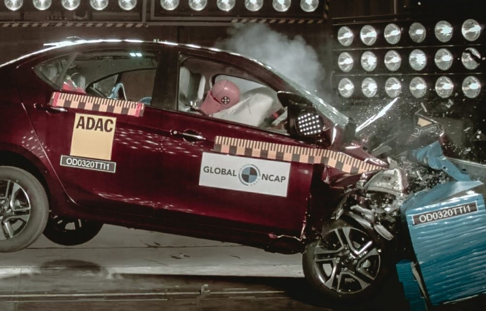 Tata Tiago, Tigor got 4 Star Safety in Global NCAP Crash Test