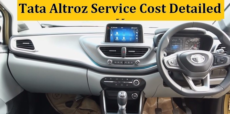 Tata Altroz Service Schedule, Maintenance Cost in India