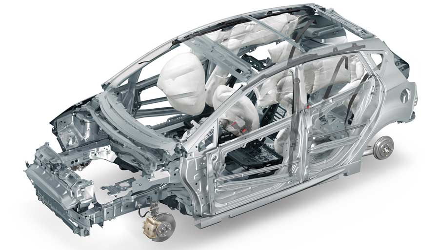 Cars With Strongest Body Structures Frames As Safe Cars
