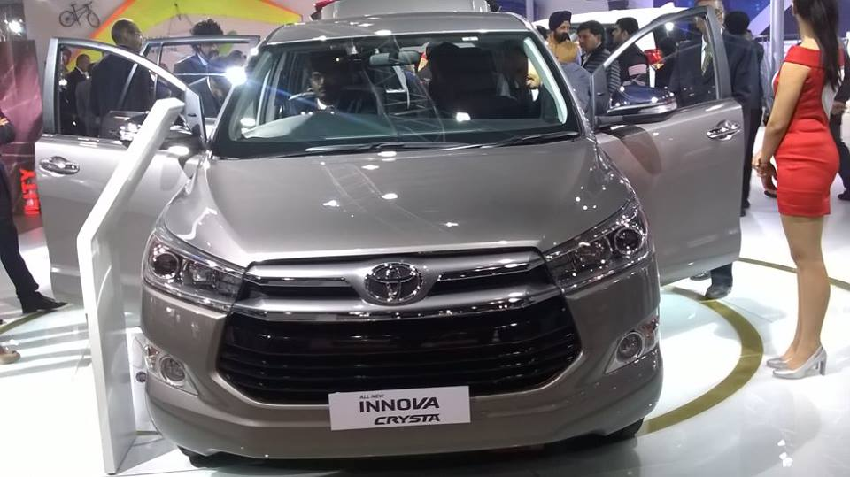 Toyota Innova Crysta Facelift Changes Launch Prices In India