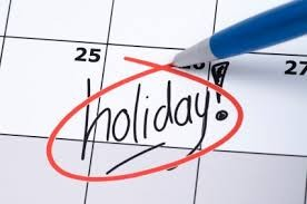 Holidays in 2019 India. Bank, School, Government Holiday Dates